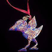 """Украшения ручной работы. Ярмарка Мастеров - ручная работа Кулон """"Mystic Bird"""". Handmade."""