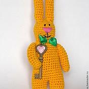"""Куклы и игрушки ручной работы. Ярмарка Мастеров - ручная работа Вязаная игрушка """"Солнечный зайчик"""". Handmade."""