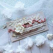 Свадебный салон handmade. Livemaster - original item Wedding envelope for money. Handmade.