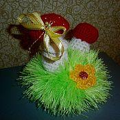 Аксессуары handmade. Livemaster - original item Mushrooms on the meadow. ( Pincushion). Handmade.