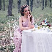 """Одежда ручной работы. Ярмарка Мастеров - ручная работа Платье"""" Нежная роза"""". Handmade."""