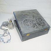 Шкатулки ручной работы. Ярмарка Мастеров - ручная работа Шкатулка Каменный цветок. Handmade.