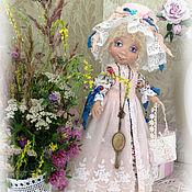 Куклы и игрушки ручной работы. Ярмарка Мастеров - ручная работа Душечка модница. Коллекционная авторская текстильная кукла.. Handmade.