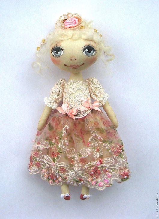 Коллекционные куклы ручной работы. Ярмарка Мастеров - ручная работа. Купить Джульетта. Handmade. Кремовый, мадам, кукла ручной работы
