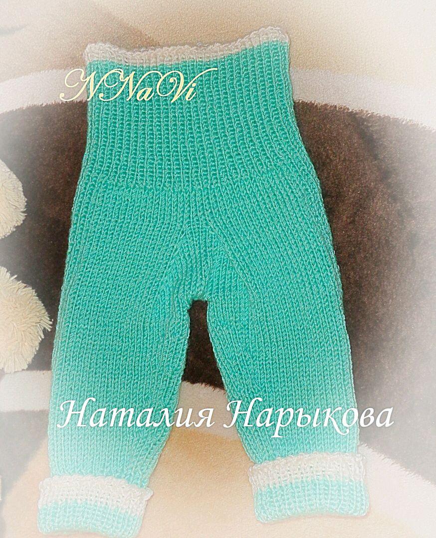 Схема вязания спицами штанишек фото 309