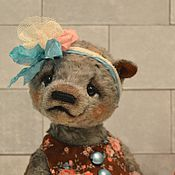 Куклы и игрушки ручной работы. Ярмарка Мастеров - ручная работа Мишка тедди Лаура. Handmade.