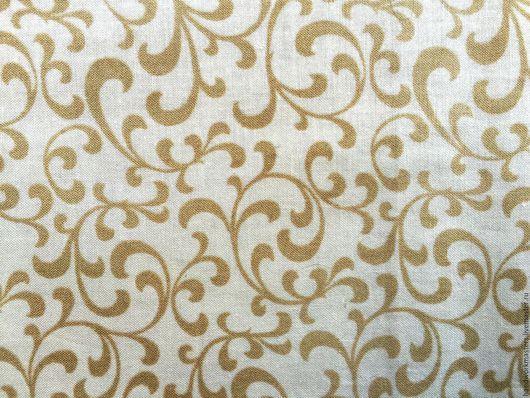 Купить ткань для лоскутного шитья. Ткань для печворка. Американский хлопок, шир. 110 см. Ткань `Старинные вензеля`