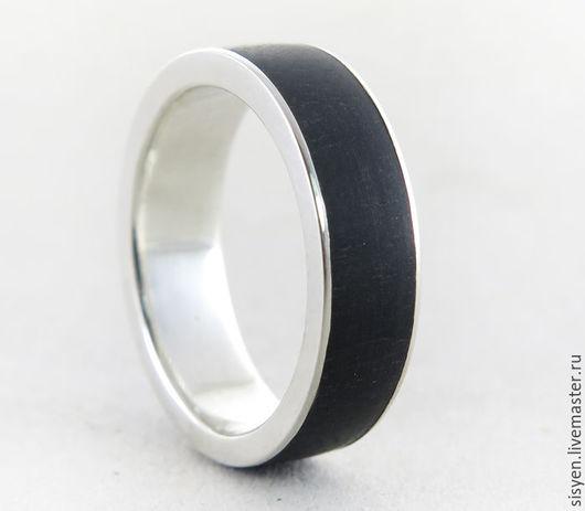Кольца ручной работы. Ярмарка Мастеров - ручная работа. Купить Серебряное кольцо с деревом внутри, свадьба, серебро, дерево. Handmade.