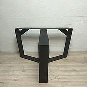 Столы ручной работы. Ярмарка Мастеров - ручная работа Подстолье для стола Тримурти X усиленное. Handmade.