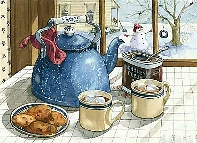 картинки старинные доброе утро завтрак