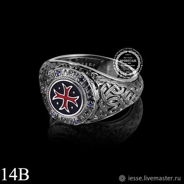 кольцо из серебра 925 пробы, родирование белое и черное,холодная   эмаль, сапфиры нат-6шт-0,043к-2/2 (возможные вставки рубины, бриллианты, изумруды -цену уточняйте)