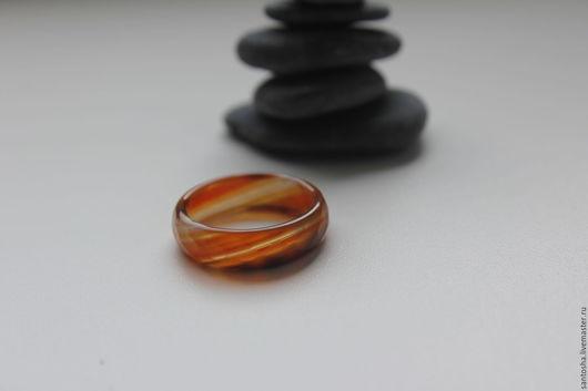 Минералы, друза ручной работы. Ярмарка Мастеров - ручная работа. Купить Кольцо из сардоникса (KOS0071). Handmade. Комбинированный, кольцо из камня