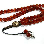Фен-шуй и эзотерика handmade. Livemaster - original item The beads 54 of grain, Wealth and Glory, natural stone Carnelian.. Handmade.