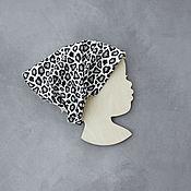 Аксессуары handmade. Livemaster - original item Scarf for girls - Leopard. Handmade.
