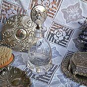 Винтаж ручной работы. Ярмарка Мастеров - ручная работа Флакон для дамского столика. Handmade.