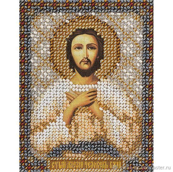 """Набор для вышивания """"Икона Св. Алексия, человека Божьего"""", Схемы для вышивки, Смоленск,  Фото №1"""