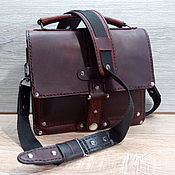 Сумки и аксессуары handmade. Livemaster - original item Bag leather shoulder. Handmade.