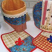 Для дома и интерьера handmade. Livemaster - original item Sommedia Dell`arte - kitchen set (4 piece). Handmade.