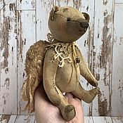 Куклы и игрушки handmade. Livemaster - original item Teddy Bear . Angel Gingerbread. Handmade.