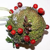 "Сувениры и подарки handmade. Livemaster - original item Christmas ball ""Cranberry"". Handmade."