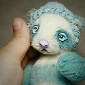 Куклы и игрушки ручной работы. Ярмарка Мастеров - ручная работа Майло, мятная панда. Handmade.