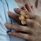 Украшения ручной работы. Ярмарка Мастеров - ручная работа Кольцо деревянное Вероника. Handmade.