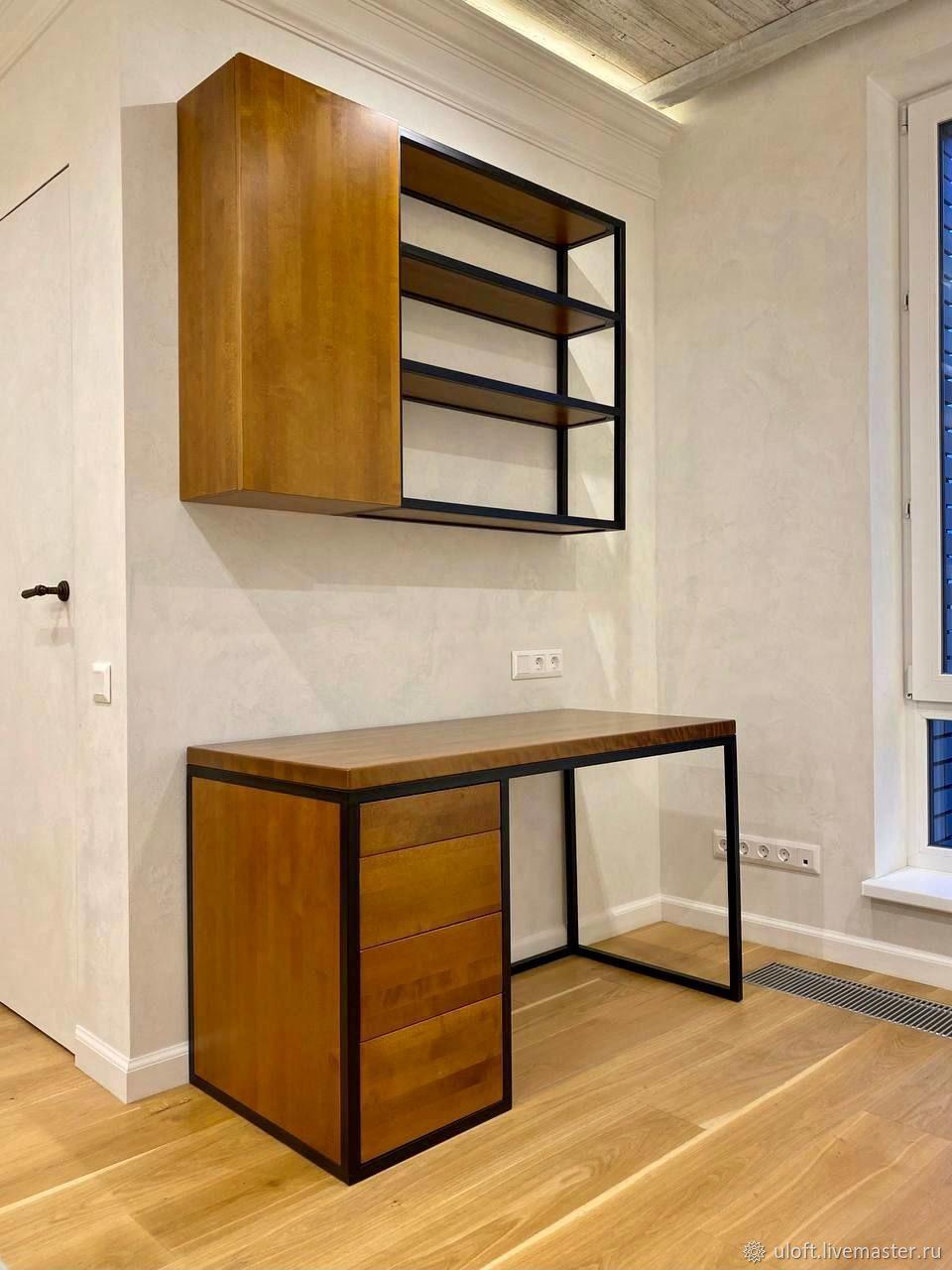 Desktop made of solid birch (project g. Mytishchi), Tables, Ivanovo,  Фото №1