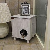 Зоотовары handmade. Livemaster - original item House-Cabinet Retro Concept Whate. Handmade.