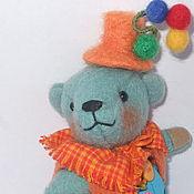 Куклы и игрушки ручной работы. Ярмарка Мастеров - ручная работа Карманный мишка Фокусник Мотя. Handmade.