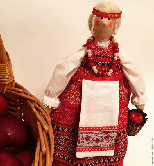 Куколка Марьюшка в русском народном стиле. Кукла Тильда.