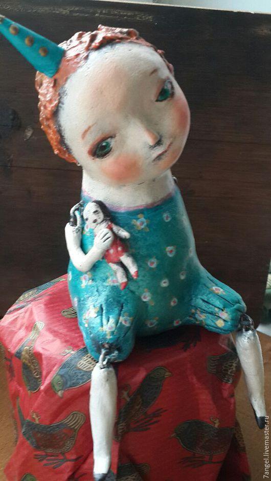 Коллекционные куклы ручной работы. Ярмарка Мастеров - ручная работа. Купить Малютка Сесиль. Handmade. Разноцветный, кукла арт-деко
