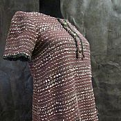 Одежда handmade. Livemaster - original item DRESS tweed, in the style of