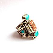 Кольца ручной работы. Ярмарка Мастеров - ручная работа Кольца: непальское кольцо. Handmade.