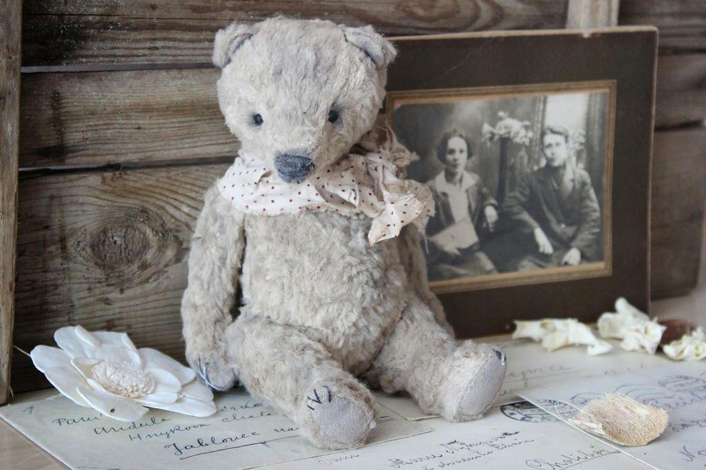 PDF sewing patterns Teddy bears \