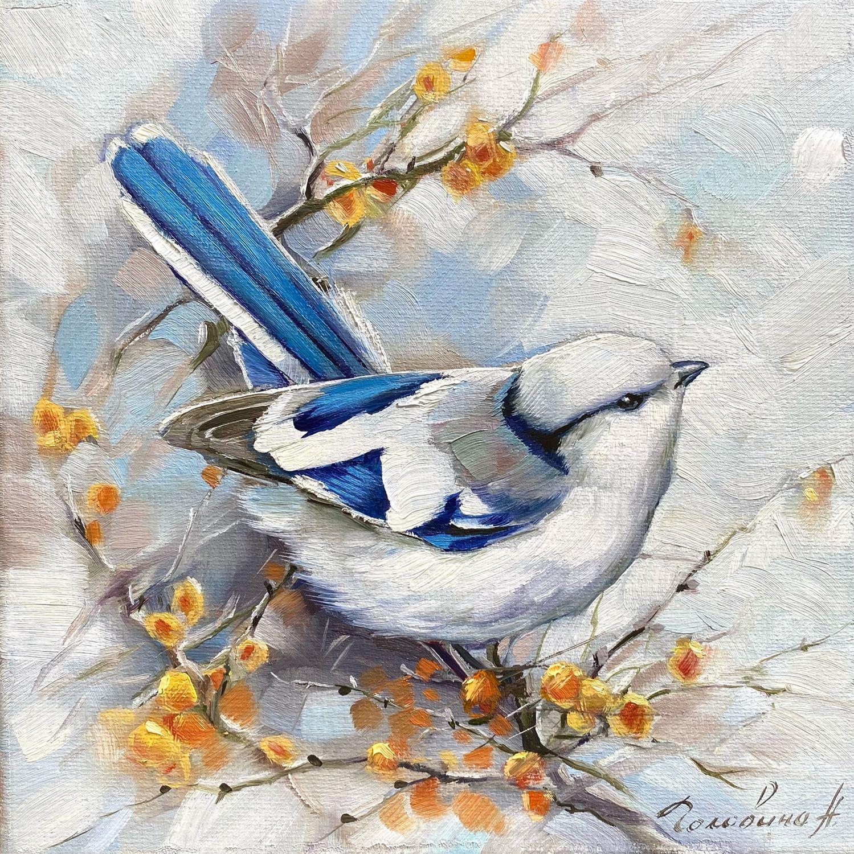 Князек- птица счастья, Картины, Рязань,  Фото №1