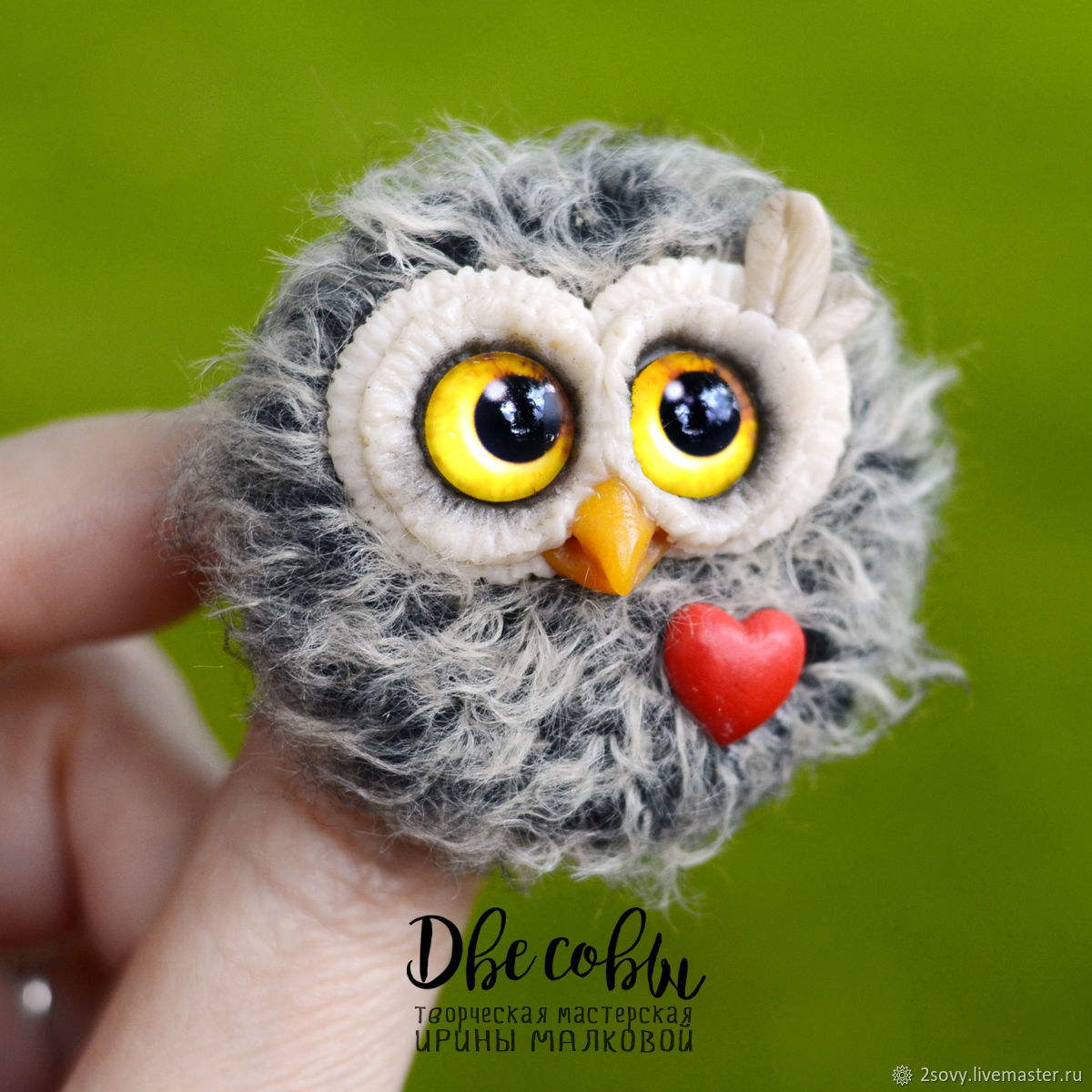 Brooch Owl Has Thrown, Brooches, Moscow,  Фото №1
