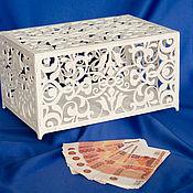Свадебный салон ручной работы. Ярмарка Мастеров - ручная работа Шкатулка резная. Handmade.