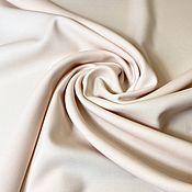 Материалы для творчества handmade. Livemaster - original item Fabric: Costume wool with elastane -Marzotto-powder pink. Handmade.