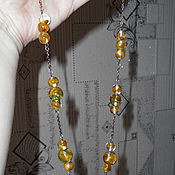 Necklace handmade. Livemaster - original item Beads. Handmade.