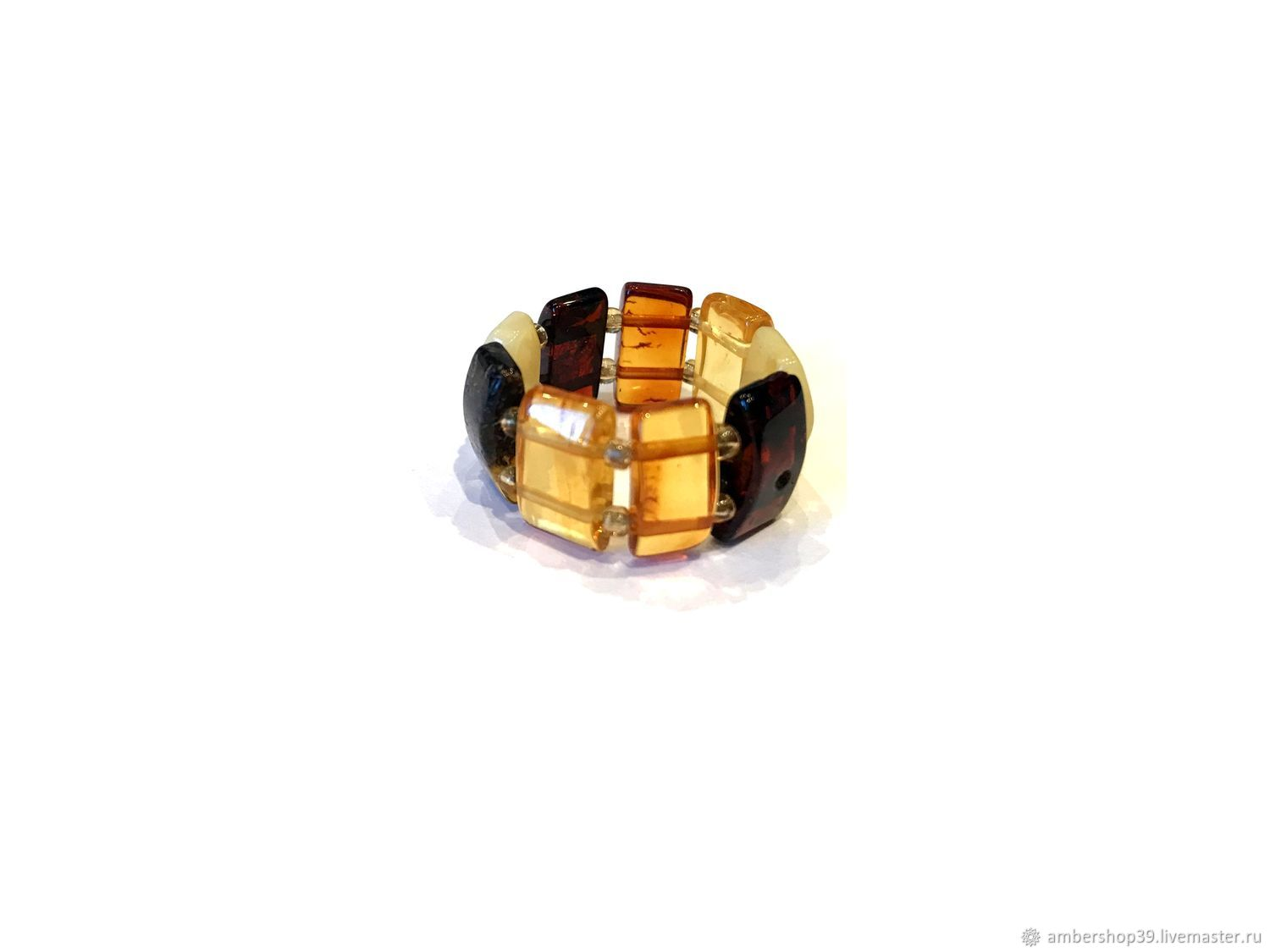 Ring made of amber, Rings, ,  Фото №1