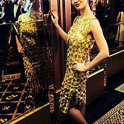 Одежда ручной работы. Ярмарка Мастеров - ручная работа Платье Golden Palas. Handmade.
