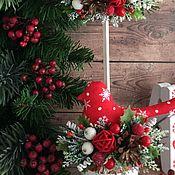 """Подарки к праздникам ручной работы. Ярмарка Мастеров - ручная работа Птички """"Радость Рождества"""". Handmade."""