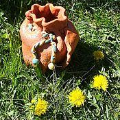 Вазы ручной работы. Ярмарка Мастеров - ручная работа Ваза для цветов Кружева. Handmade.