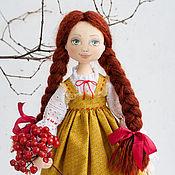 Куклы и игрушки ручной работы. Ярмарка Мастеров - ручная работа Кукла интерьерная Машенька, текстильная кукла, коллекционная кукла. Handmade.