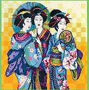 Набор для вышивания красавицы Киото Жанлин