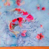 """Картины и панно ручной работы. Ярмарка Мастеров - ручная работа каритна """"Рыбки"""". Handmade."""