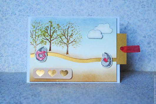 Валентинки ручной работы. Ярмарка Мастеров - ручная работа. Купить Валентинка. Handmade. Комбинированный, сердце, открытка на свадьбу, открытка любимой