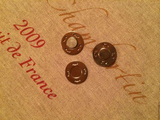 Другие виды рукоделия ручной работы. Ярмарка Мастеров - ручная работа. Купить Кнопка магнитная пришивная 20 мм. Handmade.