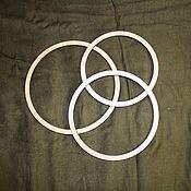 Accessories4 handmade. Livemaster - original item Ring-the basis for a Dreamcatcher or nursery mobile, 16,8-20,8 to  cm. Handmade.