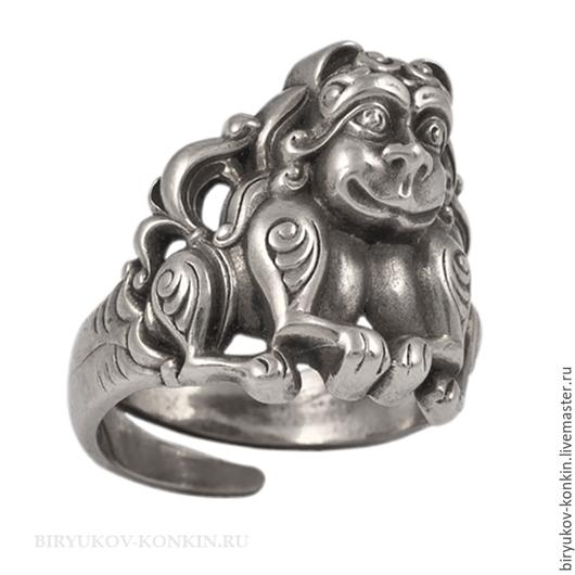 """Кольца ручной работы. Ярмарка Мастеров - ручная работа. Купить Кольцо """"Львы"""". Handmade. Кольцо, перстень, украшения ручной работы"""